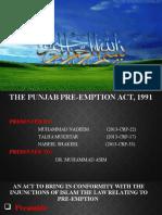 PRE-EMPTION ACT, 1991.pptx