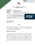 Sentencia de la Primera Sala Civil de la Corte Superior de Justicia de Lima