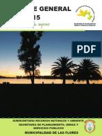 Subsecretaria de Recursos Naturales y Ambiente Municipalidad de Las Flores- año 2015