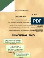 funcionalismo y neofuncionalismo