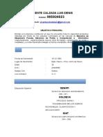 Curriculum Mecanico Soldador (1)