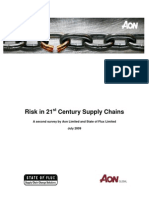 Aon Risk in 21st Century Supply Chains 09