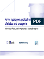 4-Novel Hydrogen Applications