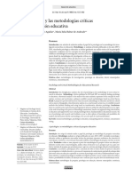 Psicologia y Metodologias Criticas Inv Educativa