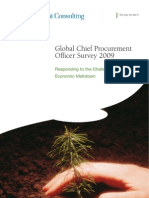 Chief Procurement Officer Survey 2009