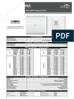 UBiQUiTi PowerBridge M5 Datasheet