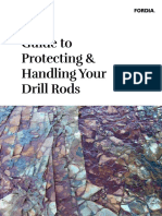 Fordia Guide to Protecting Handling Your Drill Rods