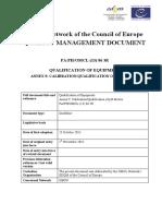 Guideline Qualification of Equipment Annex 9 PH-meter October 2015