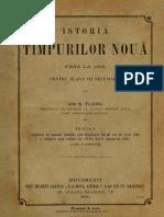 Istoria Timpurilor Nouă Până La 1900 Pentru Clasa III Secundară