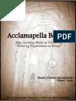 Acclamapella Book 2 SATB Choral Arrangements (A cappella)