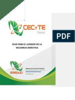 Guía Secuecia Didactica 2017-1