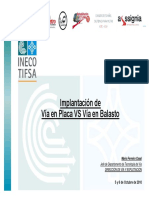 3.Implantación Placa vs Balasto