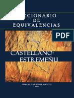 Diccionario de equivalencias castellano-estremeñu