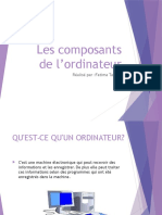 Les Composants de l'Ordinateurs All