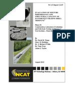 Rep12-07 NCAT Fatigue Cracking