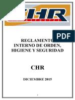 Reglamento Interno CHR