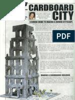 Modelling - Cardboard City