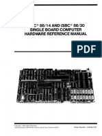 144044-002 ISBC 8614 and 8630 Single Board Computer Hardware Reference Jan85