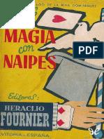 Trucos de Magia Con Naipes - Santiago de La Riva