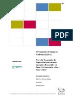 Resumen Ejecutivo - Lineamientos Para La Participacion Ciudadana en Las Actividades Electricas