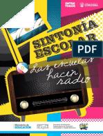 """Fascículo I. Colección """"Sintonía Escolar"""" REC"""