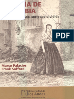 Historia de Colombia Pas Fragmentado Sociedad Dividida Primera Parte