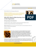 Sourcing Core Competency