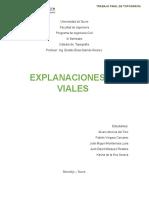 Trabajo Final Topografia Explanaciones No Viales
