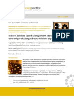 Indirect Services Spend Mgt