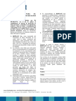 Autorización Tratamiento de Datos BIOPLAST S.a.
