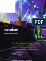 Accenture the Sustainable Supply Chain
