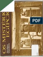 Os Mistérios Egípcios - Arthur Versluis (The Egyptian Mysteries)