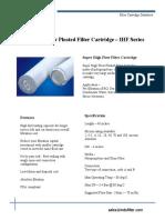 IFS IHF Filter Cartridge