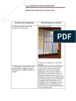 classroom organization and routines benchmark