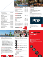 City Card Flyer 2017 AMSTERDAM