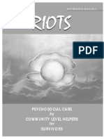 Riots Manual 2 - Psychosocial Care by Community Level Helpers for Survivors - KAMHA.ORG