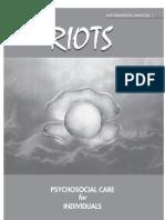 Riots Manual 1 - Psychosocial Care for Individuals - KAMHA.ORG
