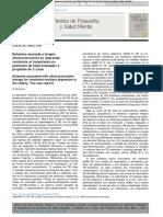 Este artículo está disponible en español   Ketamina asociada a terapia electroconvulsiva en depresión resistente al tratamiento en pacientes de edad avanzada