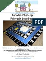 Ramadan Challenge Game