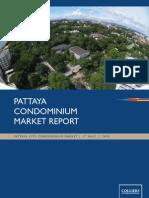 Pattaya Condominium Market Report H1 2010