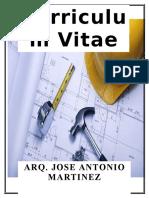 Arq. Jose Antonio Martinez Godinez
