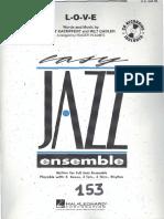 L-o-V-e Jazz Big Band Eje Roger Holmes
