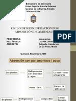 PRESENTACION REFRIGERACION