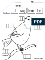 Label Parts of a Bird.pdf