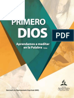 Adolfo Suarez - Primero Dios, Aprendamos a Meditar en La Palabra (2016)