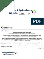 Aplicaciones Cadegroup 2016 - Tags