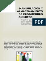Almacenamiento y Manipulación de Sustancias Quimicas New Servis