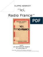 Ici, Radio France