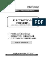 Electrotecnia Industrial 201220 - Semestre III
