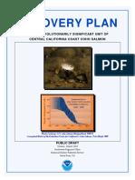 2010 Coho Recovery Plan Public Draft